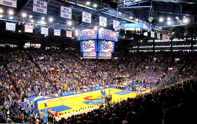 2019 20 Nonconference Kansas Basketball Schedule Kansas